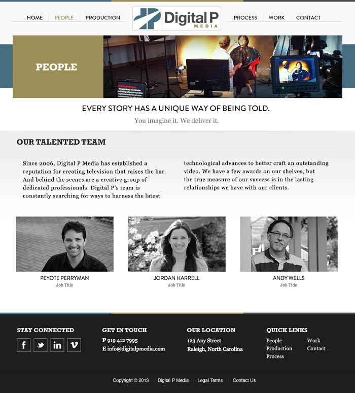 Digital P Media People Page