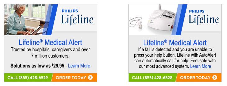 Phillips Lifeline 300x250 Banner Ads