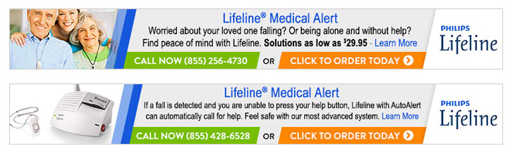 Phillips Lifeline 728x90 Banner Ads