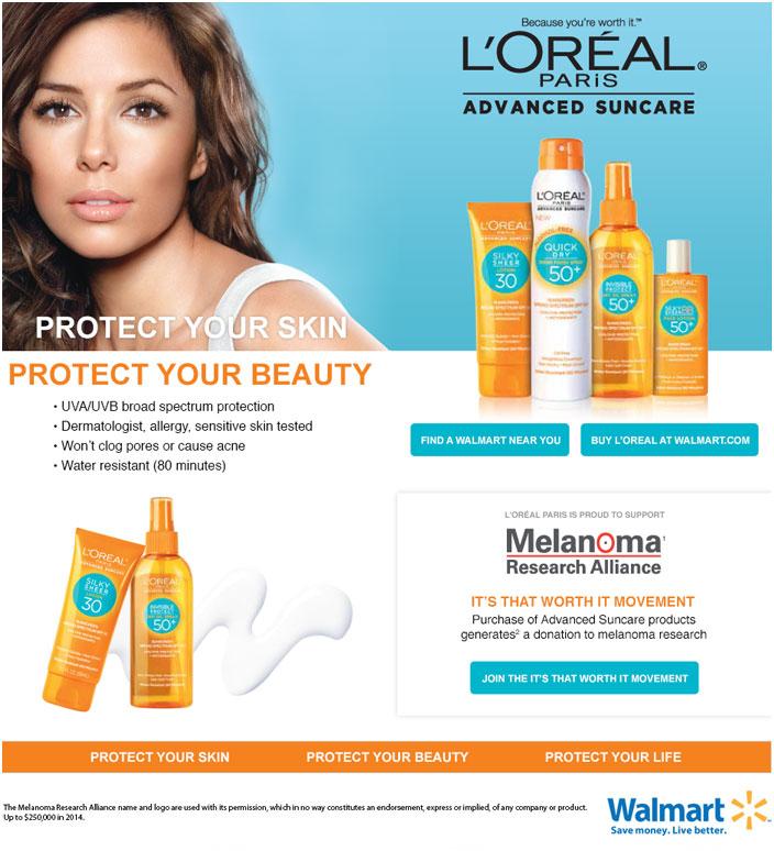 L'Oréal Landing Page