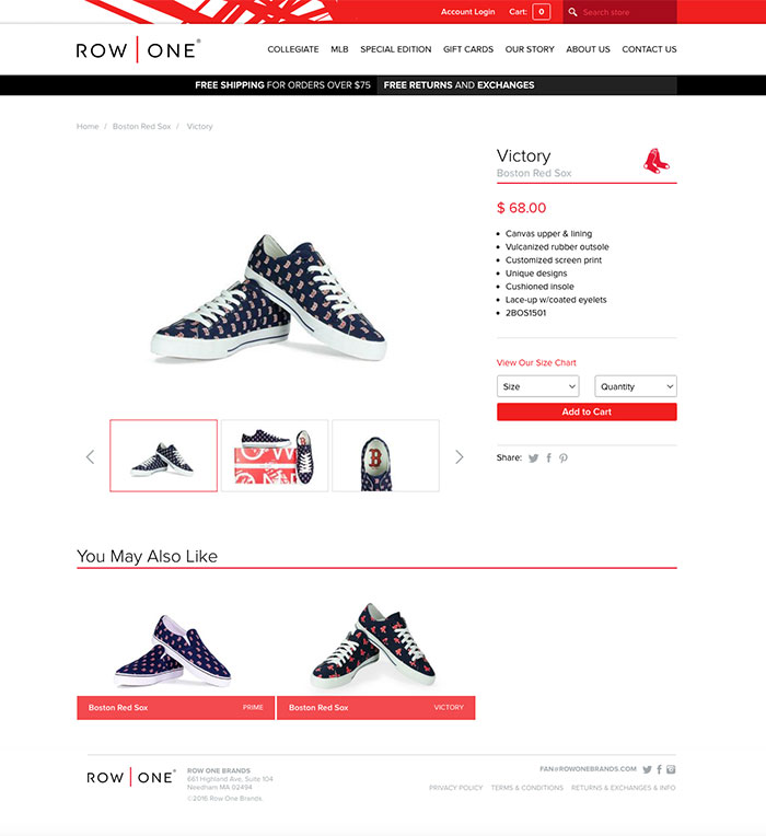 Row One Brands Product Page