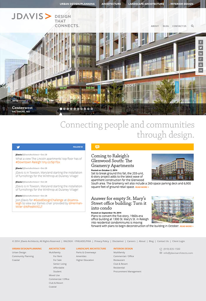 JDavis Architects Home Page