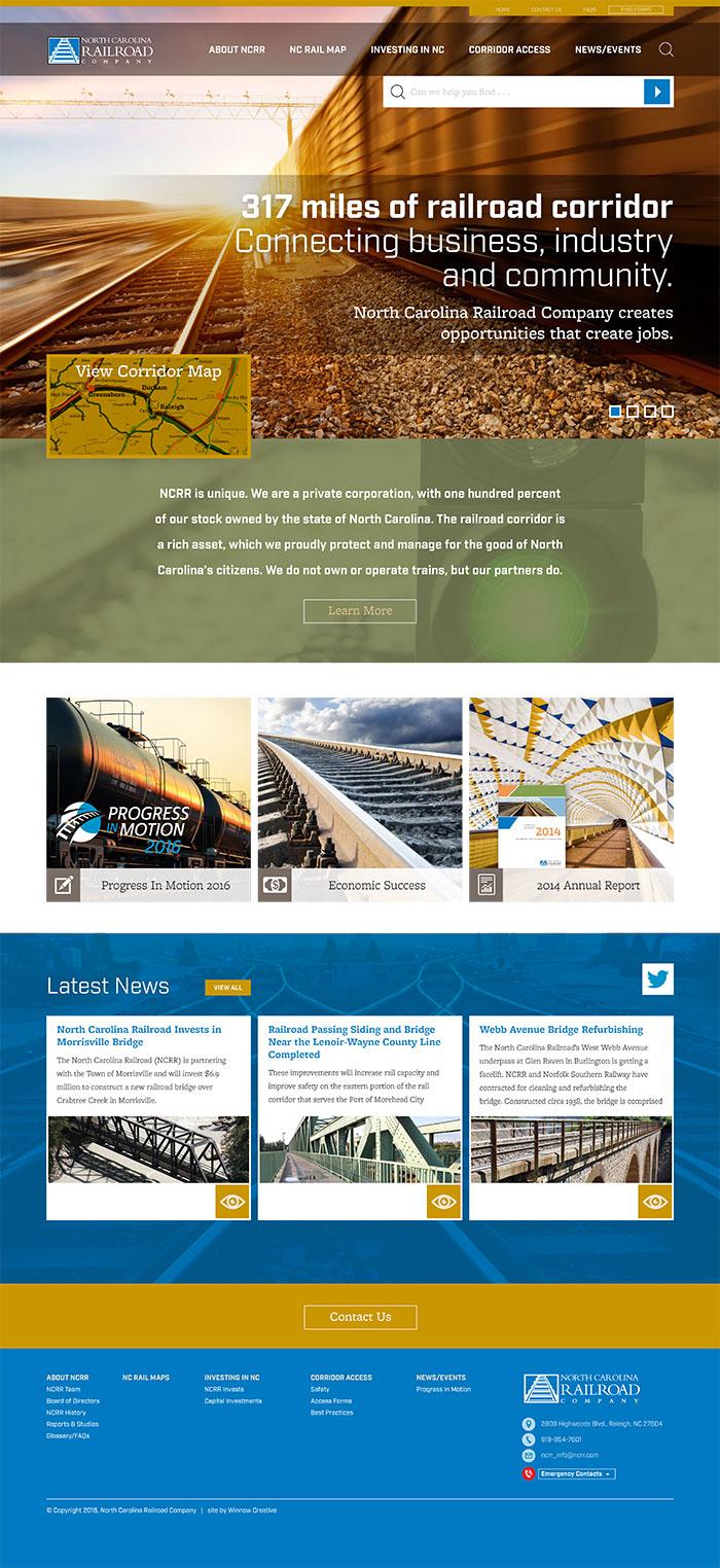 North Carolina Railroad Home Page